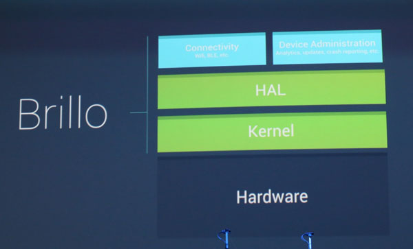 Brillo - Google's New Operating System For IoT