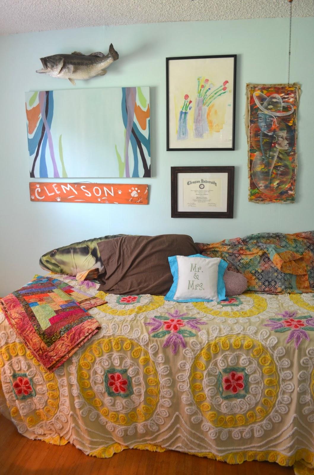 Grace Langdon Art Chalkboard Murphy Bed