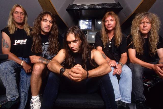 Iron Maiden testou 12 vocalistas para escolher o substituto de Bruce Dickinson em 1993