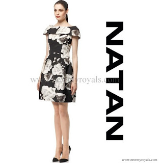 Queen Mathilde Style NATAN Dress (Autumn/Winter-2014)