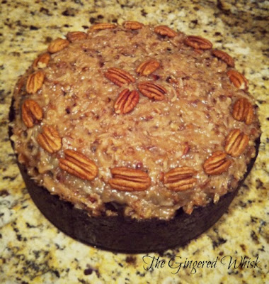 This german chocolate cheesecake is utterly amazing!