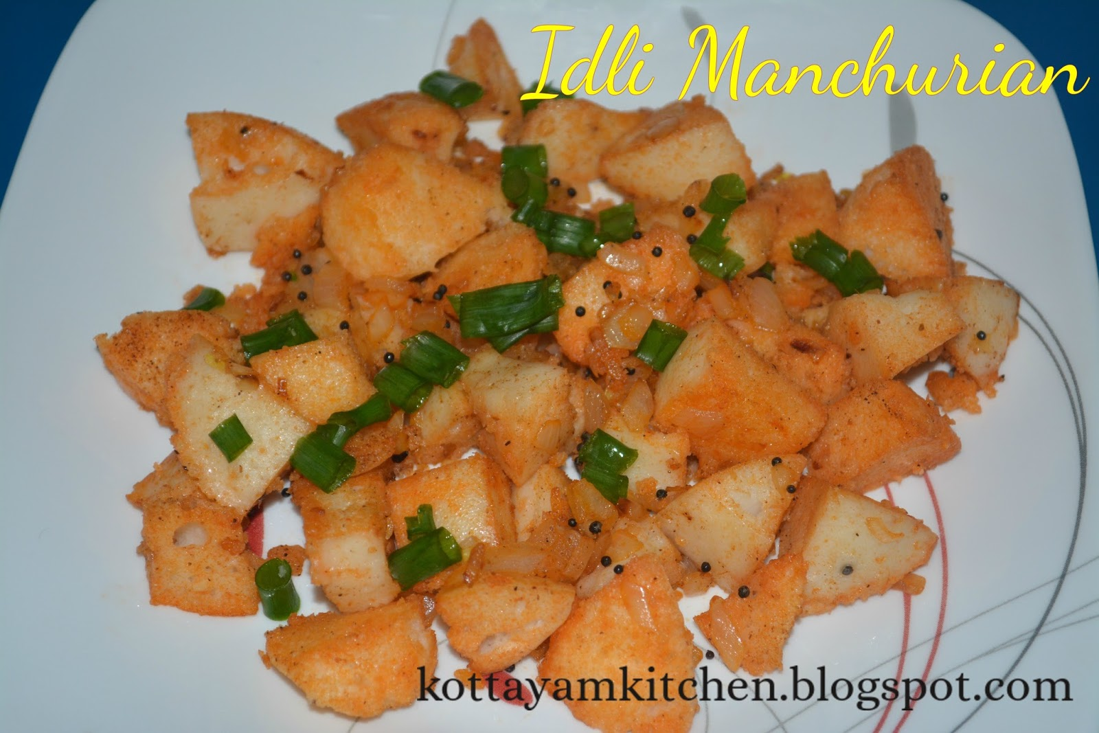 Idli manchurian without oil recipe idli recipes idli make over1 idli is the south indian break fast dish made by using fermented ground rice and urad dal batter in a steamer it doesnt use any oil for making idly its forumfinder Gallery