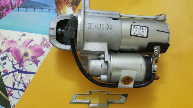 Máy đề xe Captiva máy xăng chính hãng GM