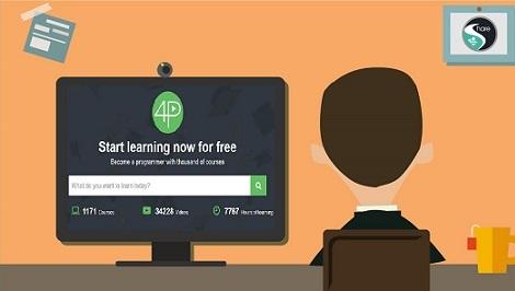 موقع يضم أكثر من ألف كورس تعليمي تقني مجانا
