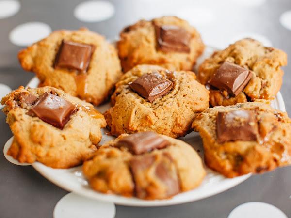Banoffee Cookies ¦ TheBettyStamp Recipe