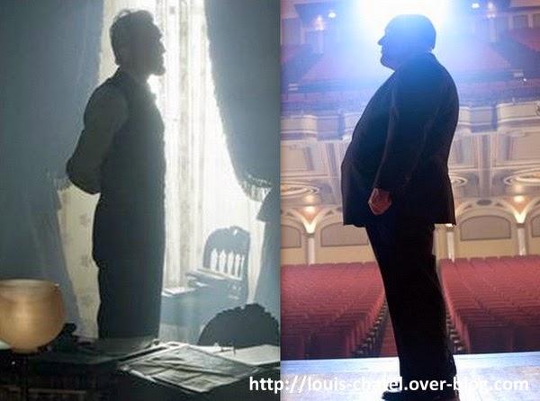 Image mettant face à face les Biopics de Lincoln et Hitchcock à l'affiche