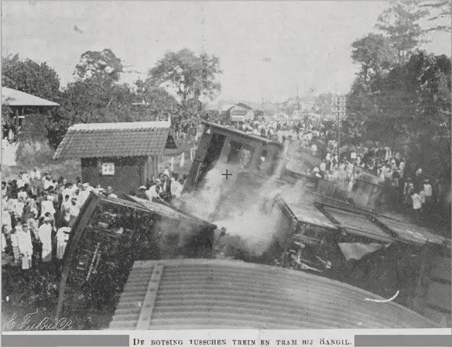Kecelakaan Kereta Api Tempo Doeloe