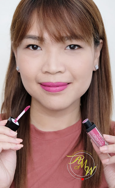 a photo of Palladio Velvet Matte Cream Lip Color Review in PLUSH