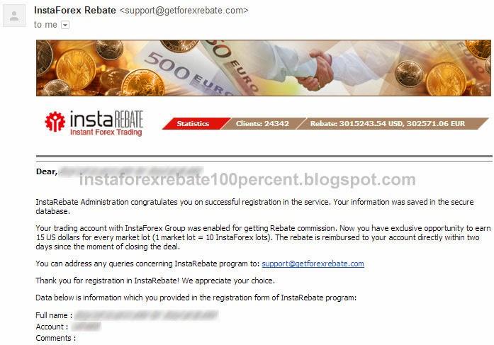 email instaforex rebate