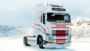 Bøstrand paint job for Volvo 2013