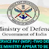 MILITARY SERVICE PAY (MSP): TWO DEPARTMENTS OF DEFENCE MINISTRY APPEAR TO BE AT CROSS