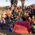 Encuentro de fútbol infantil en La Paloma