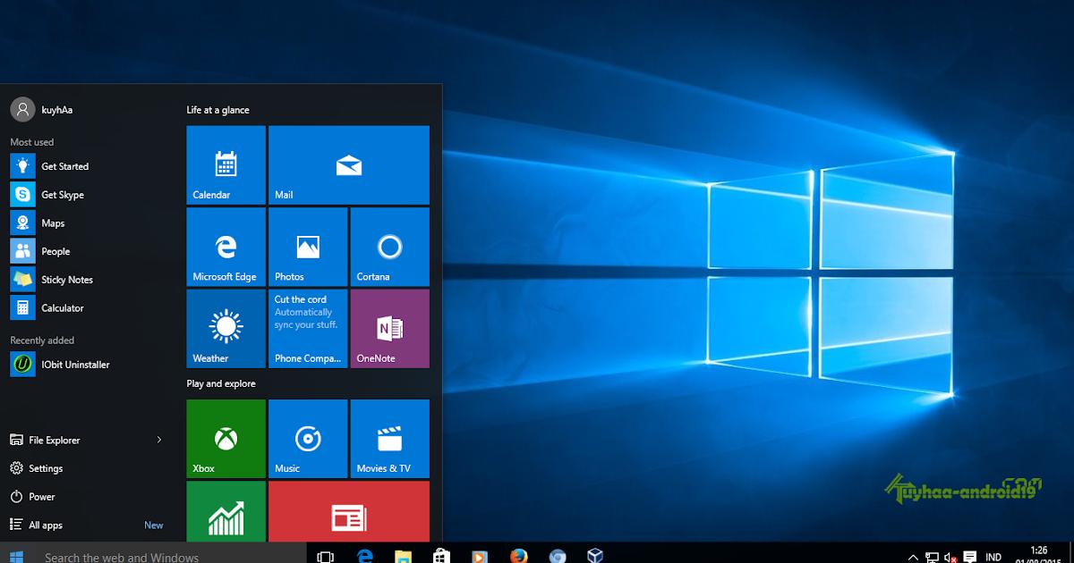 Cara Aktivasi Windows 8.1 Update 1