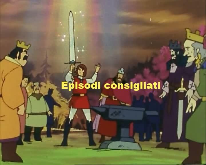 Il mondo degli anime e non solo la spada di king