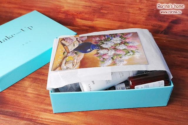 Бьюти-бокс от Make me Up box: коробочка-конструктор за сентябрь