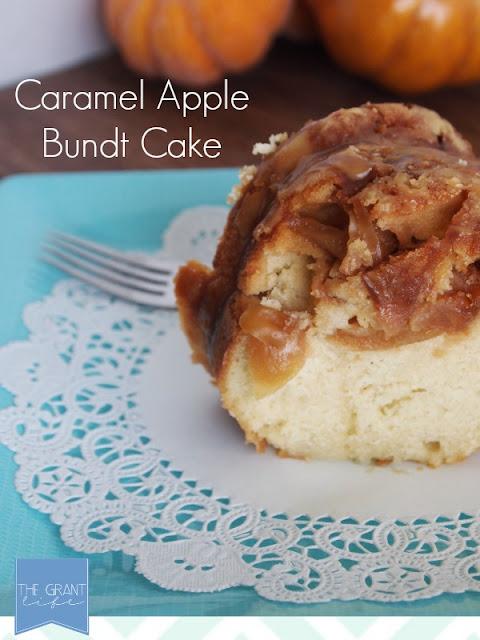 Caramel Apple Bundt Cake 27 Amazing Apple and Pumpkin Recipes for Fall 69