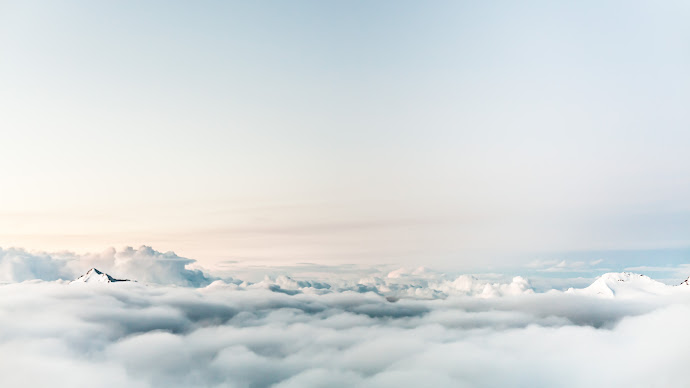 Wallpaper: Floating on Clouds