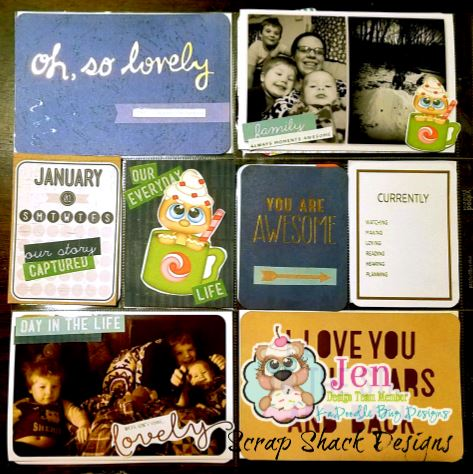 Week 1 Pocket Scrapbooking Layout