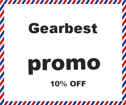 gearbest promo 10% OFF Site inteiro