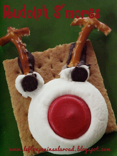 Rudolph the Red-Nosed Reindeer S'mores Treats