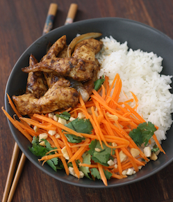 lemongrass ginger chicken recipe