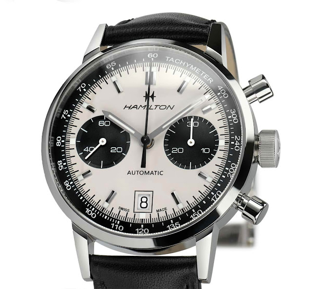 Hamilton American Classic Intra-Matic Auto Chrono 40 mm
