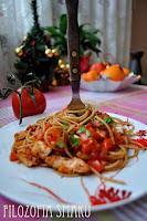 (Spaghetti z salsa criola