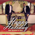 PHOTO: Married Nigerian Gay Right Actvist, Bisi Alimi & Husband Wishes Everyone a Happy Holiday