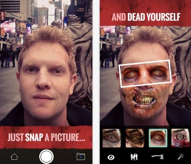 aplikasi kamera zombie effect