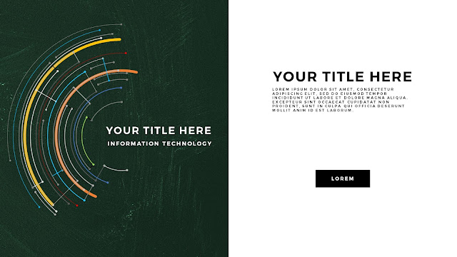 Technical Title and Background Free PowerPoint Template Slide 8