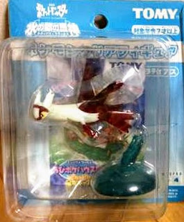 Latias figure clear version Tomy Monster Collection 2005 movie promo