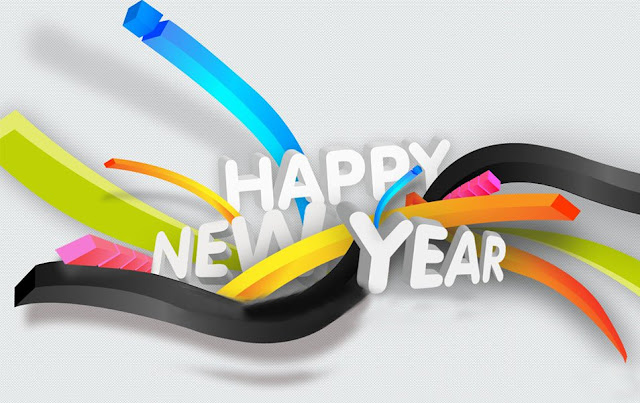 3D Wallpaper Of New Year 2018 HD