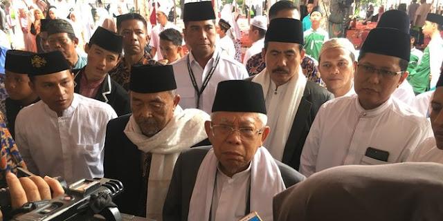 Jelang Debat Capres, Ma'ruf Amin Dilatih Manajemen Bicara