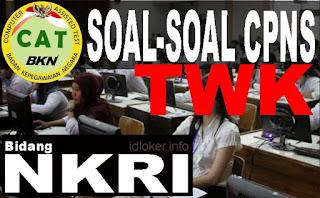 Contoh Soal CPNS 2018 TWK NKRI