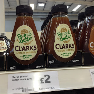 Clarks Peanut Butter Dessert Topping (50% Less Sugar)
