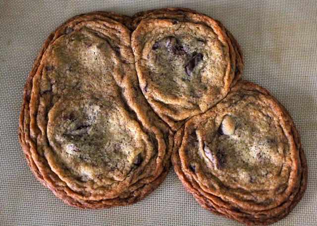Huge Chocolate Chip Cookies by freshfromthe.com.