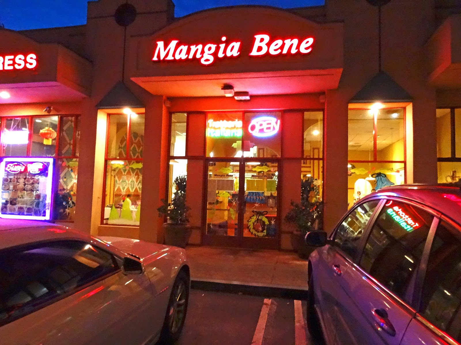 Mangia Bene Restaurant Martinez Ca