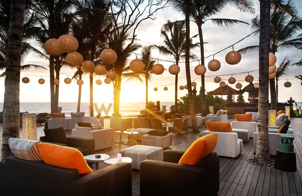 DELUXSHIONIST TRAVEL - SUNSET AT W HOTEL BALI