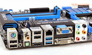 Backpanel I/O Motherboard