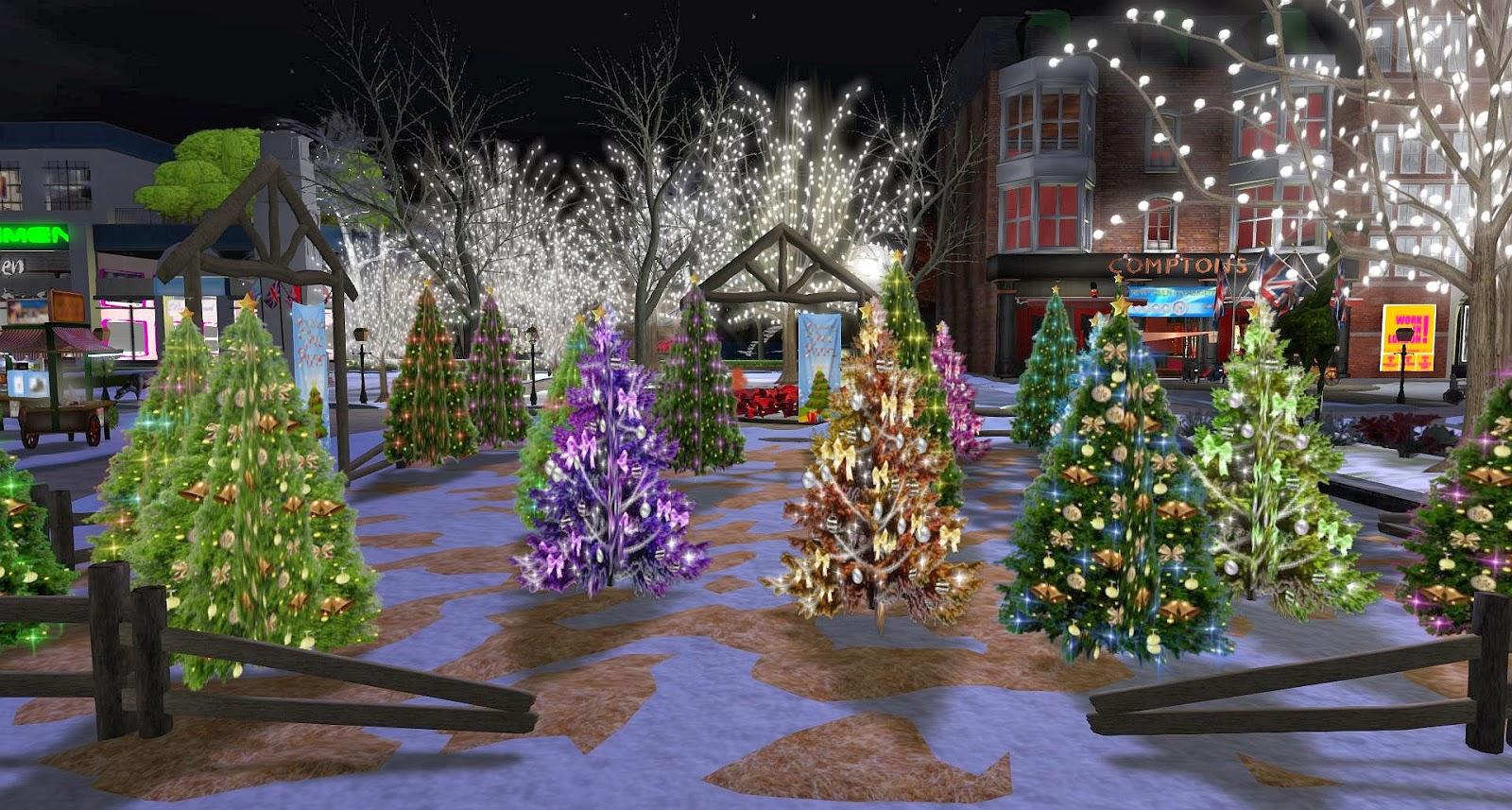 London City: Christmas Tree Farm - Free Trees
