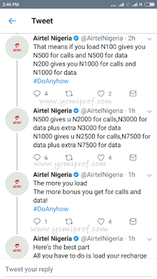 Airtel smart recharge gives you 10x more on calls and data