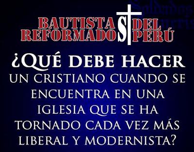 """¿Qué debe hacer un cristiano cuando se encuentra en una """"iglesia"""" liberal? (2 Corintios 6:17-18) – William Mac Donald"""