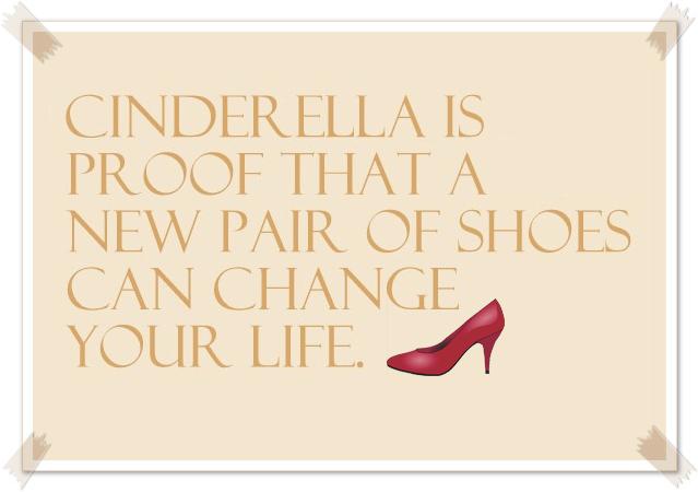 Shopper Cenerentola è la prova che un nuovo paio di scarpe può cambiarti la vita