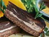 Tarta de Queso y Chocolate Marmolada