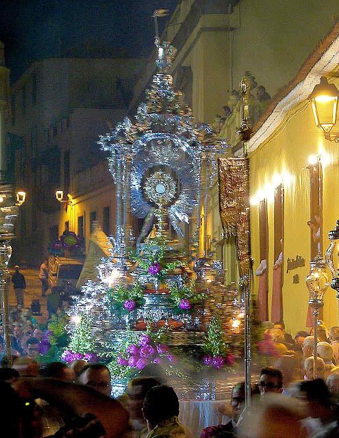 Procissão de Corpus Christi, La Orotava, Canárias, Espanha.