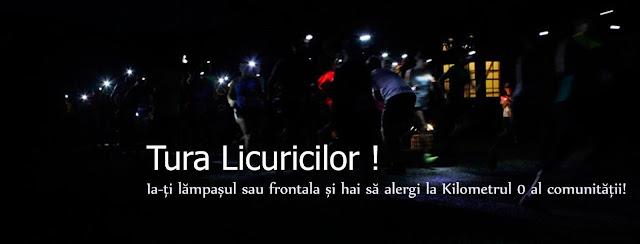 Tura Licuricilor - Alergare prin noapte pe strazile orasului