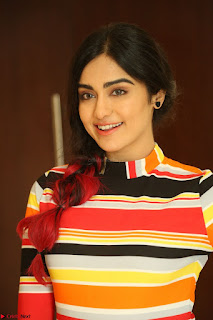 Adha Sharma in a Cute Colorful Jumpsuit Styled By Manasi Aggarwal Promoting movie Commando 2 (126).JPG