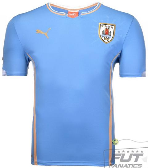 Uruguai apresenta as camisas para a Copa do Mundo - Show de Camisas f3dd65f72f5ad