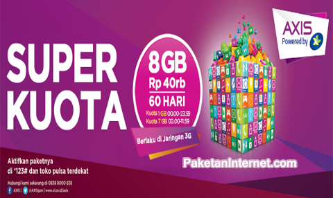 Axis Internet Unlimited Paling Murah
