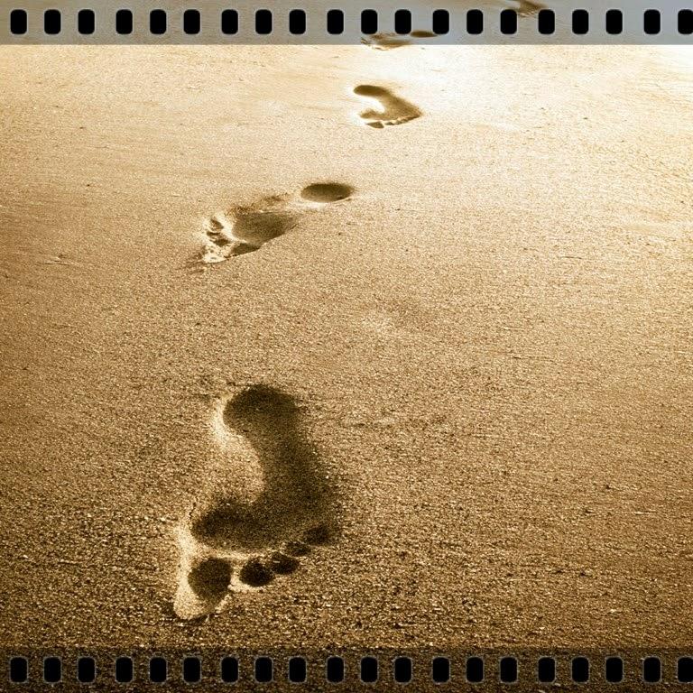 DomeGospel: Pegadas Na Areia